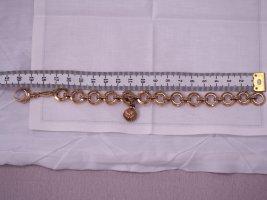 Fossil Armband mit Charm Anhänger, Edelstahl rosegold, Charm Muschel mit Perle, mit Strasssteinchen