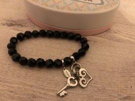 FOSSIL Armband mit Herz & Schlüssel Anhänger