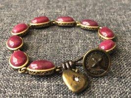 Fossil Armband mit Herzanhänger