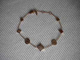Fossil Braccialetto sottile color oro rosa Metallo