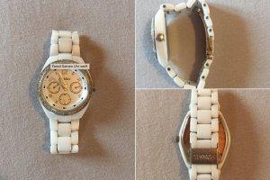 Fossil Damen Uhr weiß
