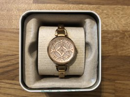 Fossil Watch With Metal Strap rose-gold-coloured