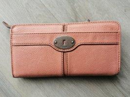 Fossil Wallet dusky pink