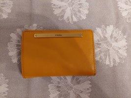 Fossil Wallet light orange