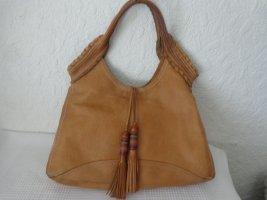 Fossil Shoulder Bag sand brown leather