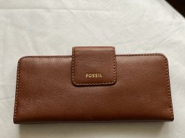 Fossil  Madison - Slim Clutch Brown *new*