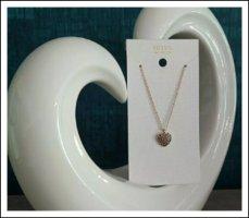 Fossil Pendant Halskette Kette Love Herz Anhänger Rosegold Farben