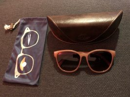 Fossil Retro Glasses gold-colored-pink synthetic material
