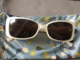 Fossil Sonnenbrille extravagant weiß