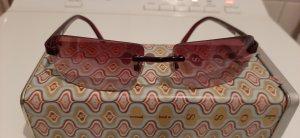 Fossil Angular Shaped Sunglasses pink-purple