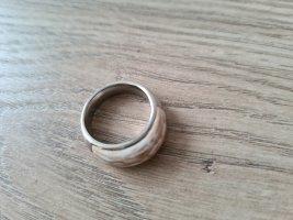 Fossil Steel Ring Fingerring