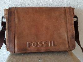 Fossil Bandolera marrón Cuero