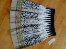 FOX'S Asymmetry Skirt white cotton