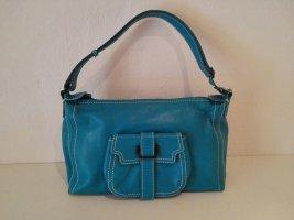 ☀ FRANCESCO BIASIA ☀ Handtasche aus Echtleder In Türkis