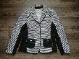 *Frank Walder* toller Blazer / schwarz-weiß gemustert / Gr. 42 / neuwertig - NP 129,90€