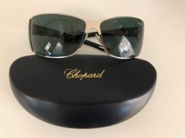 Chopard Angular Shaped Sunglasses silver-colored-black