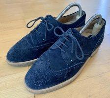 Fratelli rossetti Budapest schoenen donkerblauw