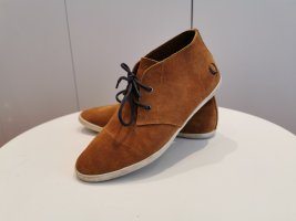 Fred Perry Hellbraun Portwood Suede Sneaker 39