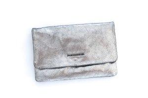 FREDsBRUDER Handtasche Tasche Clutch silber