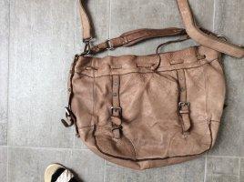 Fredsbruder Shoulder Bag grey brown