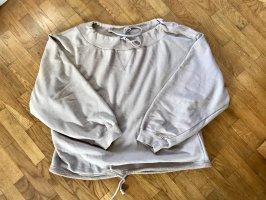 Free People Bluza dresowa szaro-brązowy