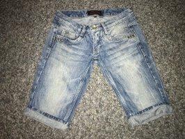 Freeman t. porter Pantaloncino di jeans blu