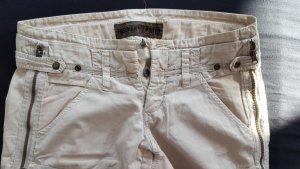 Freeman T. Porter Stoff 3/4 Capri Hose Shorts beige 30