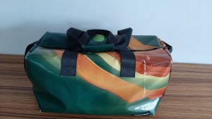 Freitag Borsa messenger arancione-verde