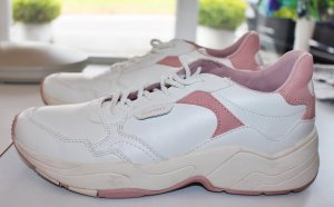 adc by Esprit Lace-Up Sneaker white-pink mixture fibre