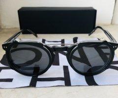 Freudenhaus Okulary retro czarny