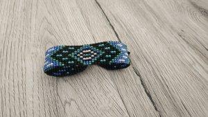 Handmade Friendship Bracelet multicolored glas