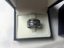 Frey Wille Ring 18 Kt Weiss gold, Hommage a Claude Monet, Iris