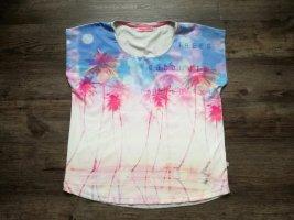 *Frieda & Freddies* T-Shirt / mehrfarbig mit Print / Gr. 42 / NP 69,95€
