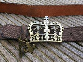 Friis & Company Hebilla del cinturón marrón