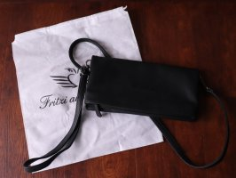 Fritzi aus preußen Clutch black-red imitation leather