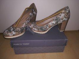 Marco Tozzi Loafers bruin-licht beige