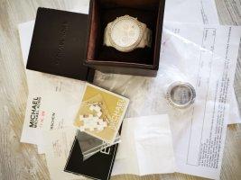 Michael Kors Orologio analogico bianco-argento