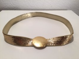 Leather Belt gold-colored leather