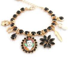 Impressionen Bracelet black-gold-colored