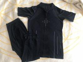 C&A Maglietta sport nero-grigio chiaro Poliestere