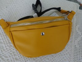 Bumbag dark yellow mixture fibre