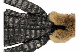 Moncler Doudoune noir-marron clair