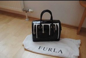 Furla Handbag black-white