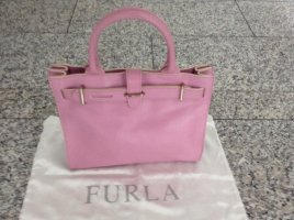Furla Carry Bag pink leather