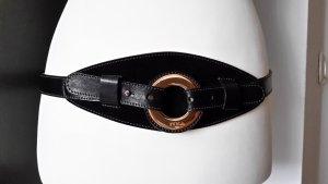Furla Cinturón de cuero negro