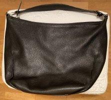 Furla Shoulder Bag black-silver-colored leather