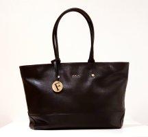 FURLA Ledertasche / Handtasche / Tasche / groß schwarz