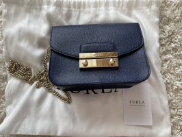 Furla Gekruiste tas donkerblauw-blauw