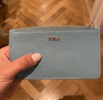 Furla Mini-Geldbeutel/Kartenetui in hellblau