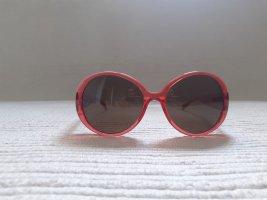 Furla Oval Sunglasses red
